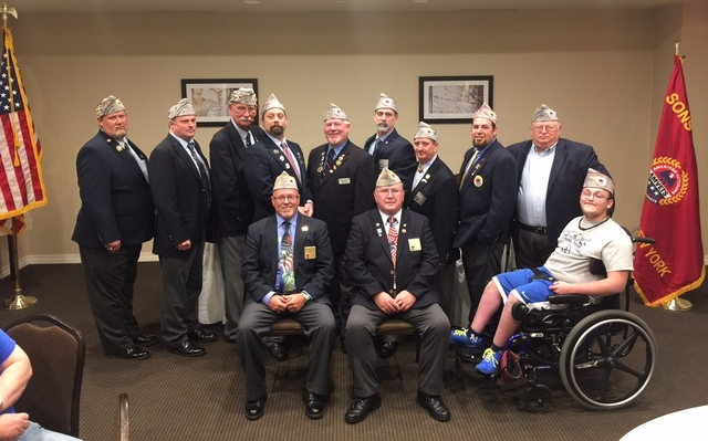 Sons of AMVETS Dept of NY Officers