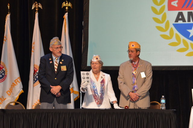 Sons of AMVETS 30th Annual Convention opening ceremony